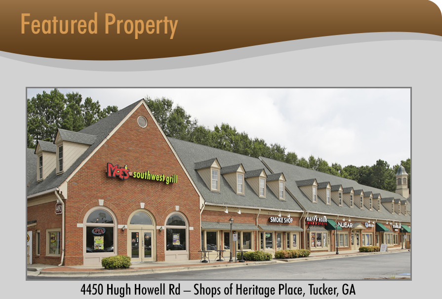 4450 Hugh Howell Rd – Shops of Heritage Place, Tucker, GA